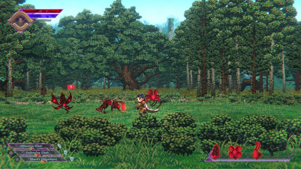 sacrifire combat screenshot