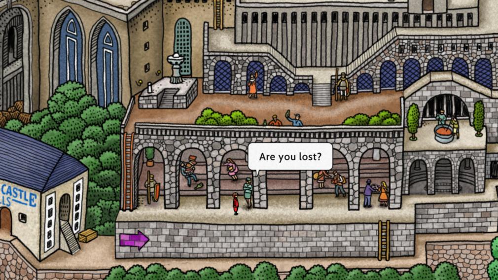 screenshot 1 labyrinth city