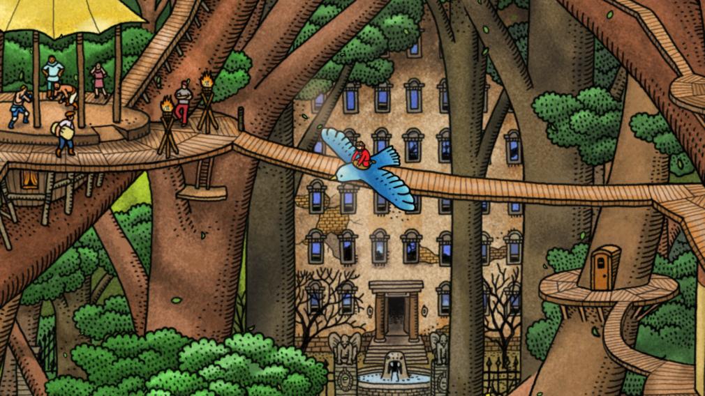 screenshot 3 labyrinth city