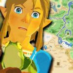 Fan de The Legend of Zelda: Breath of the Wild crea «Google Maps» para Hyrule