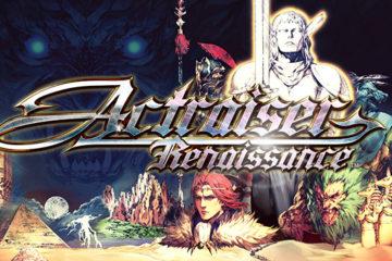 Actraiser Renaissance en formato digital para Nintendo Switch PlayStation 4 PC y móviles